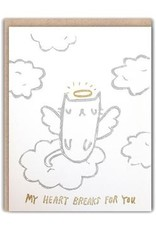 Ghost Academy Ghost Academy | Angel Kitty Sympathy Card