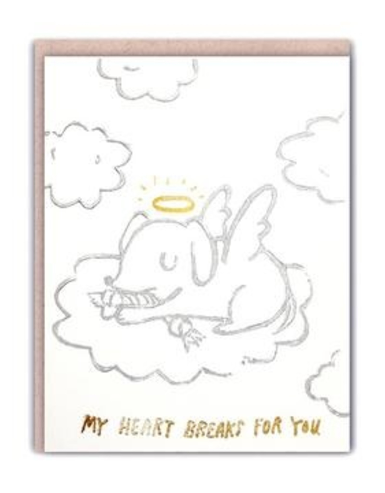 Ghost Academy Ghost Academy | Angel Pup Sympathy Card