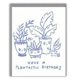 Ghost Academy Plantastic Birthday Card