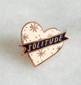 Stay Home Club Solitude Enamel Pin