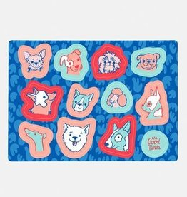 The Good Twin Dogs Sticker Sheet