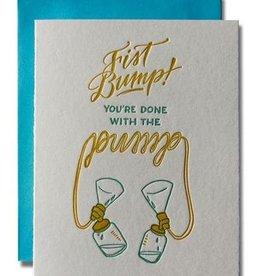 Ladyfingers Letterpress Ladyfingers Letterpress | Fist Bump Pump Card
