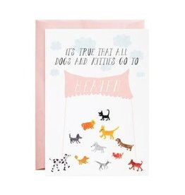 Mr. Boddington's Mr. Boddington's | Doggies In Heaven Card