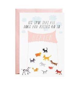 Mr. Boddington's Mr. Boddington's | Doggies In Heaven Card