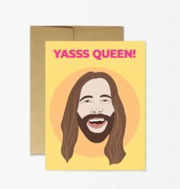 Party Mountain Paper Co Party Mountain Paper Co. | Jvn Yas Queen Card