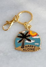 Stay Home Club Stay Home Club | Happy Alone Keychain