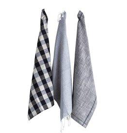 Creative Co-Op Turkish Set of 3 Tea Towels