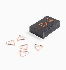 Poketo Poketo | Copper Pyramid Paper Clips