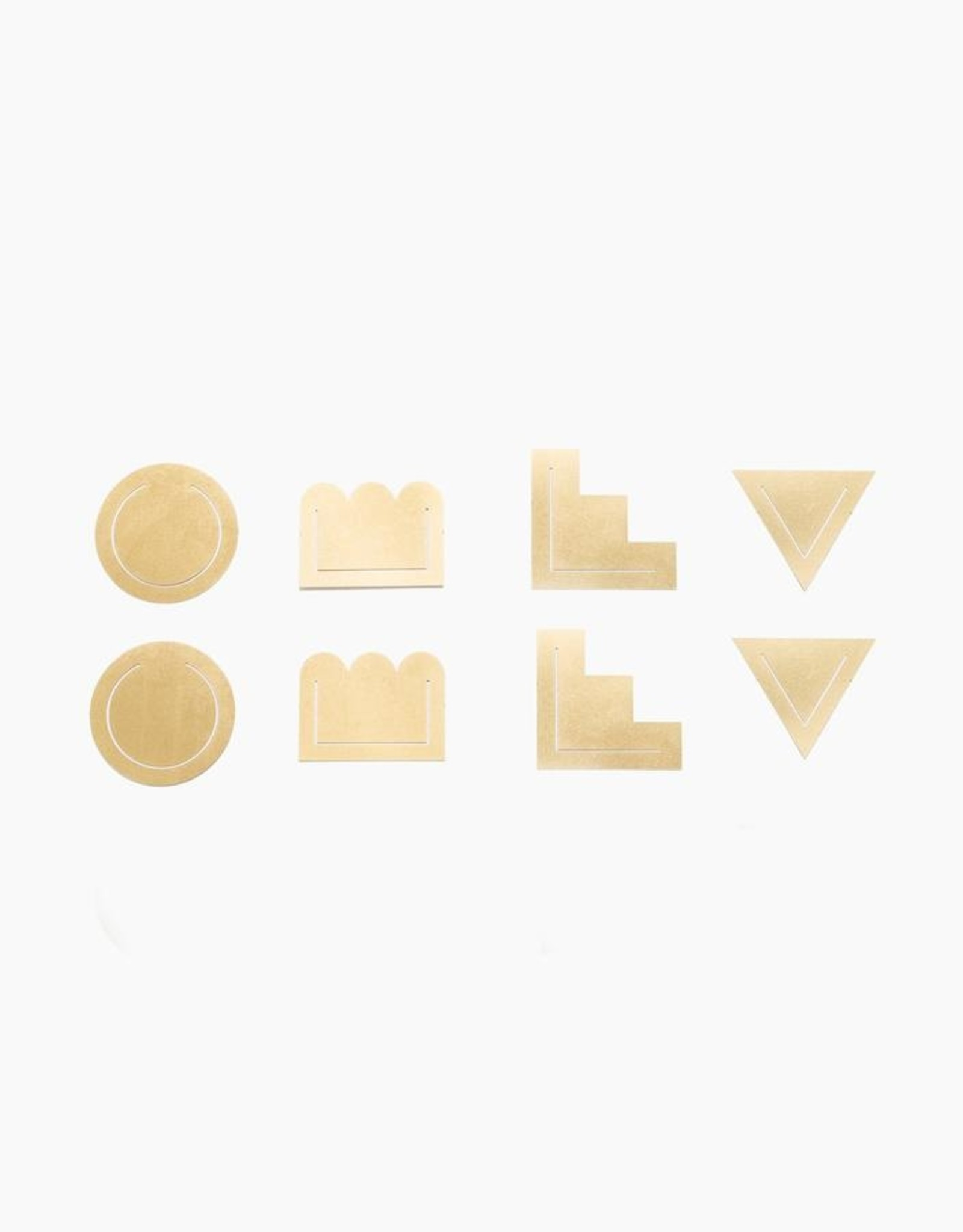 Poketo Poketo | Brass Clips Set of 8
