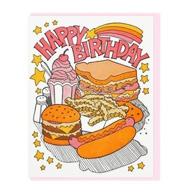 Lucky Horse Press Lucky Horse Press | Fast Food Card