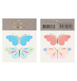 Meri Meri Meri Meri | Neon Butterfly Tattoos