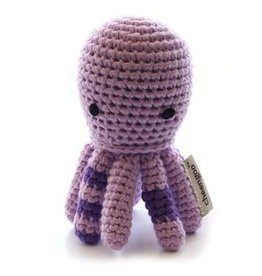 Cheengoo Octopus Crochet Rattle