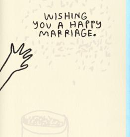 People I've Loved Rice Wedding Card