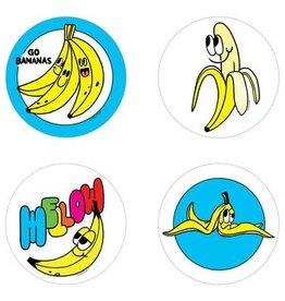 Beautiful Days Beautiful Days | Scratch and Sniff Banana Stickers