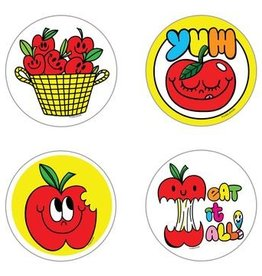 Beautiful Days Beautiful Days | Scratch and Sniff Apple Stickers
