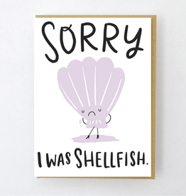 Hello! Lucky Shellfish Card