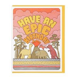 Lucky Horse Press Epic Birthday Card