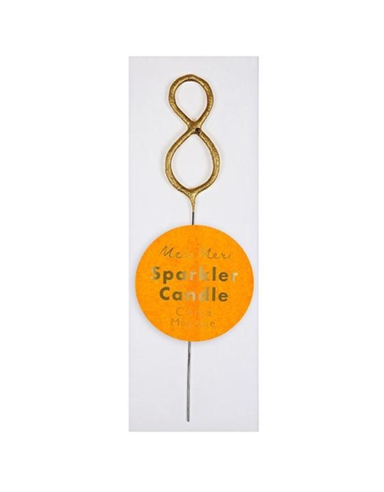Meri Meri Meri Meri | Gold Sparkler 8 Mini Candle