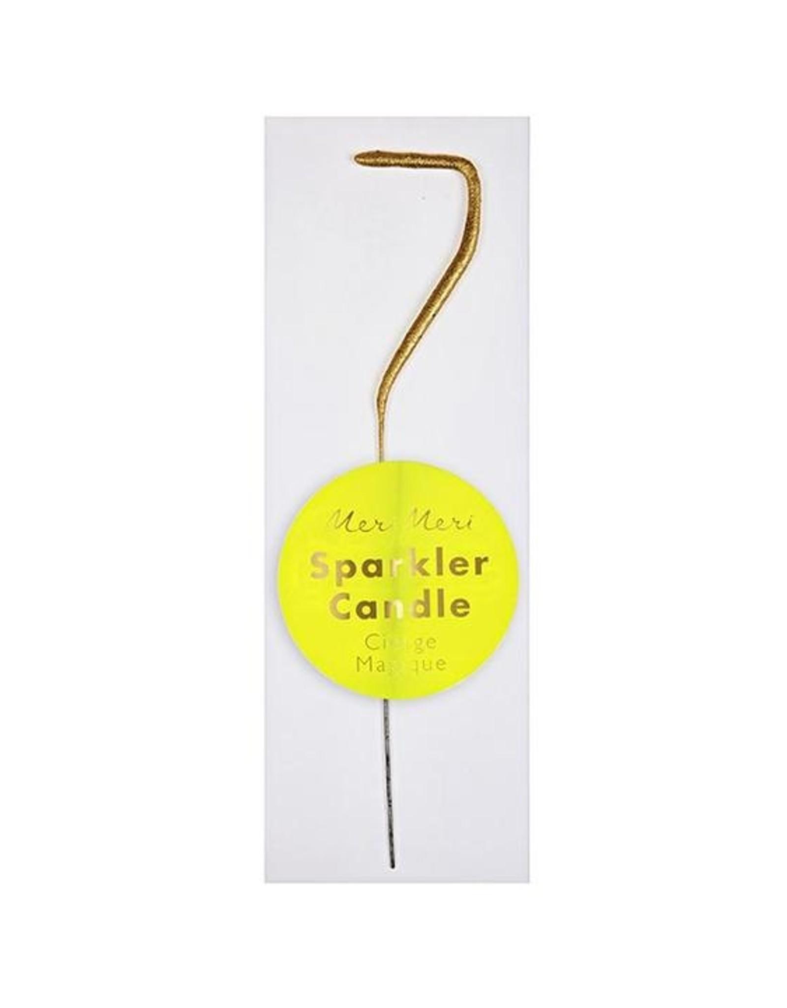 Meri Meri Meri Meri | Gold Sparkler 7 Mini Candle