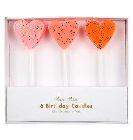 Meri Meri Meri Meri | Heart Candles