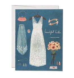Red Cap Red Cap | Beautiful Bride Card