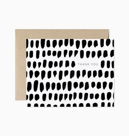 Evermore Paper Co. Evermore Paper Co. | Thank You Brush Stroke (boxed / single)
