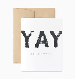 Evermore Paper Co. Evermore Paper Co. | Yay So Happy Card