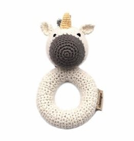 Cheengoo Unicorn Crochet Ring Rattle