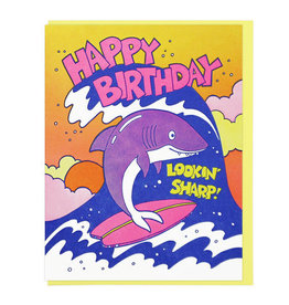 Lucky Horse Press Sharp Birthday Shark