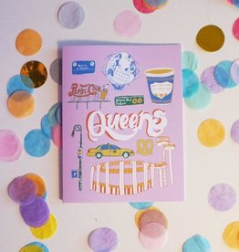 Ash + Chess Cute Queens Card