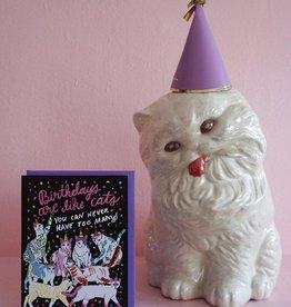 Ash + Chess Birthday Cats