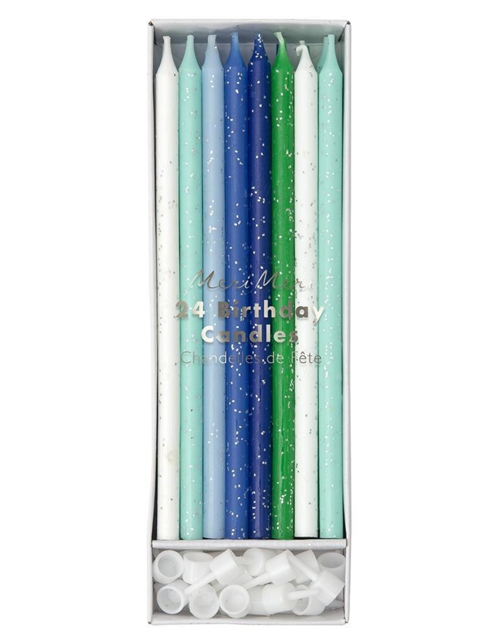 Meri Meri Meri Meri | Blue Birthday Candles