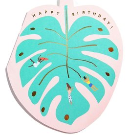 Carolyn Suzuki Monstera Leaf Birthday