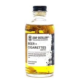 Soap Distillery Soap Distillery |Beer + Cigarettes Body Oil