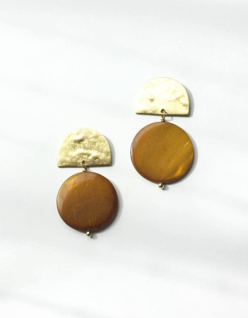 Rover & Kin Rover & Kin   Mother of Pearl Earrings