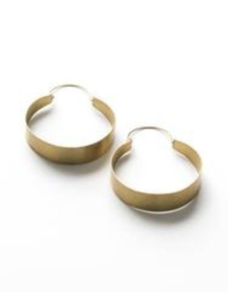 Rover & Kin Rover & Kin  Brassy Statement Earrings