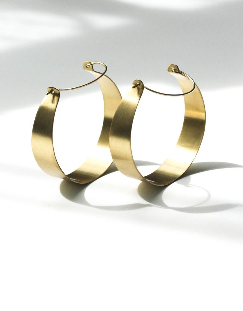 Rover & Kin Rover & Kin |Brassy Statement Earrings