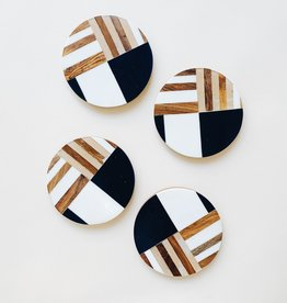 Bloomingville Geometric Coasters