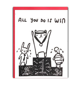 Ghost Academy All You Do Is Win Card