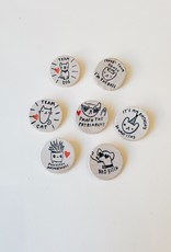Ghost Academy Ghost Academy   Assorted Pins