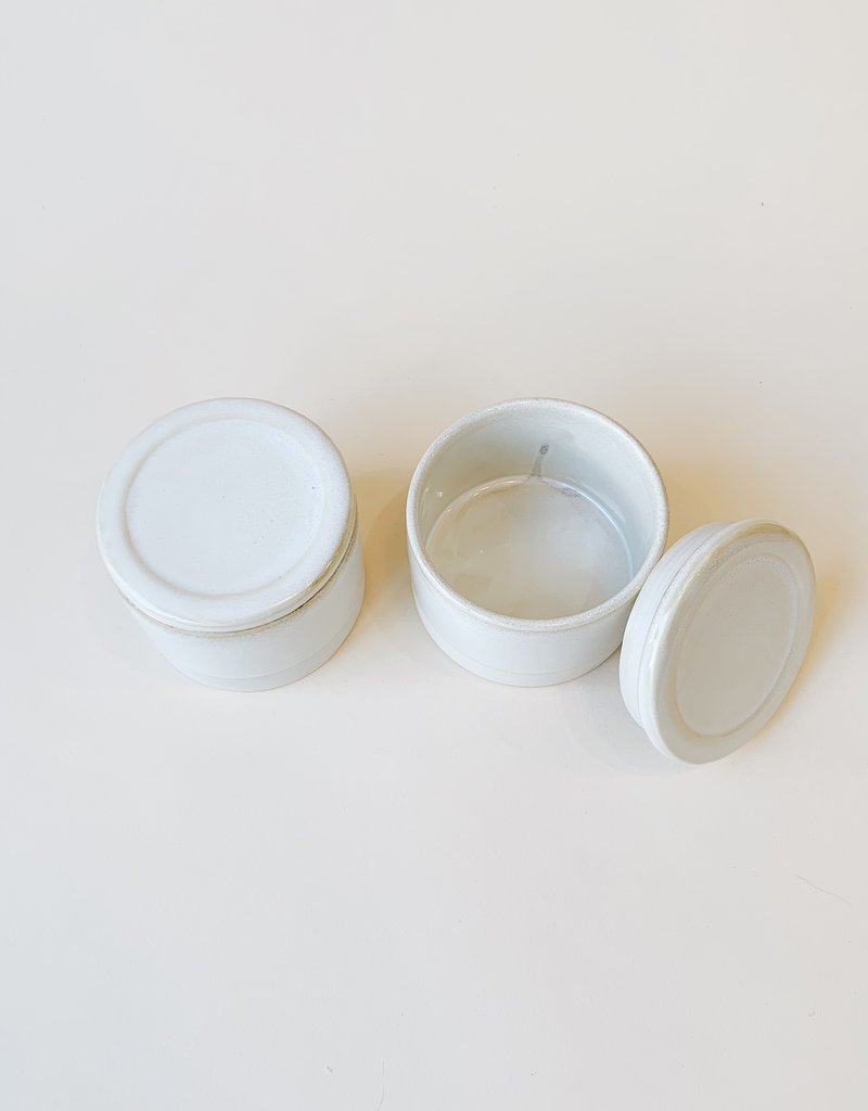 Bloomingville Lidded Stoneware Jar