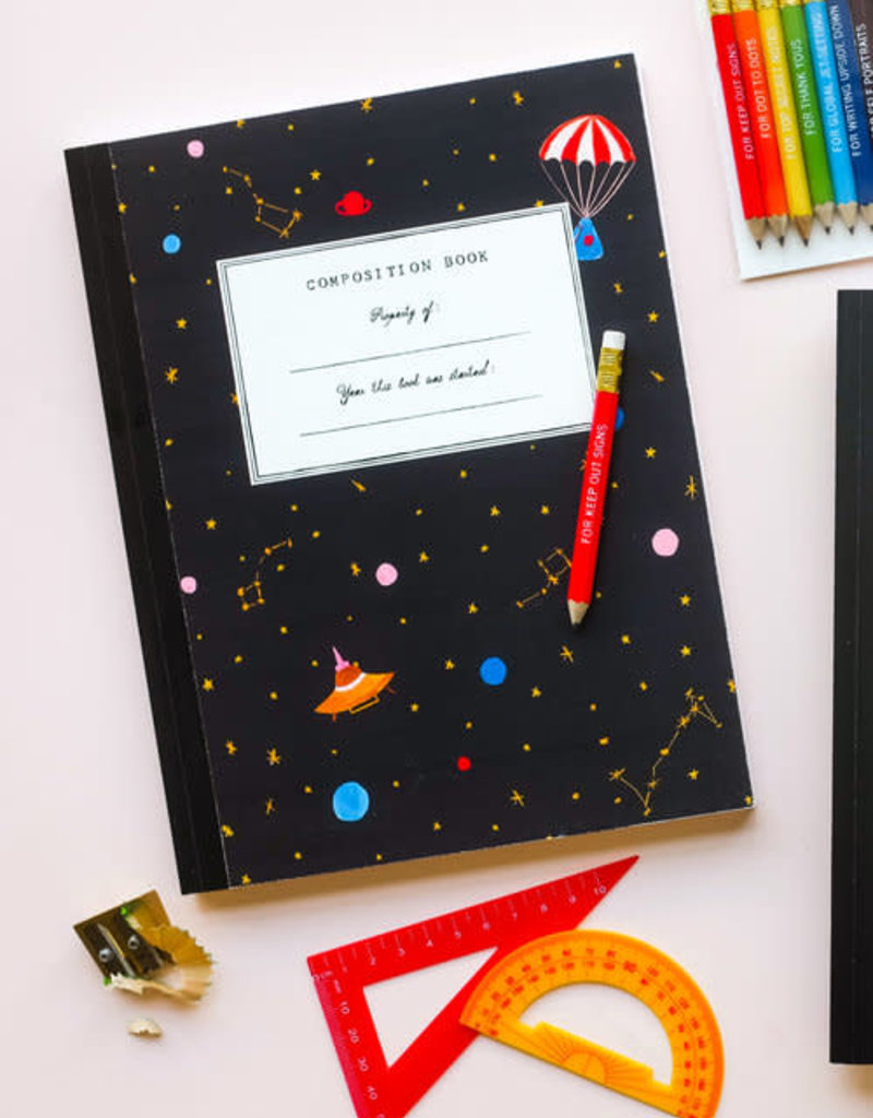 Mr. Boddington's Mr. Boddington's | Space Composition Notebook
