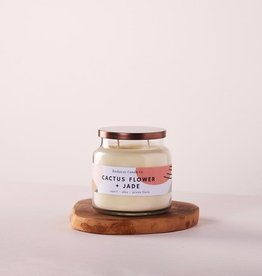 The Rockaway Candle Co. The Rockaway Candle Co | Statement Candle Cactus Flower and Jade