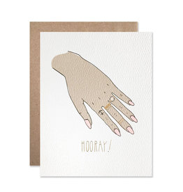 Hartland Brooklyn Hartland Brooklyn| Gold Foil Engagement Hooray