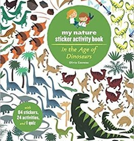 Hachette My Nature Sticker Activity Book: In the Age of Dinosaurs