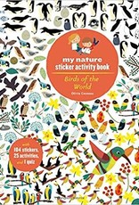Hachette My Nature Sticker Activity Book: Birds of the World