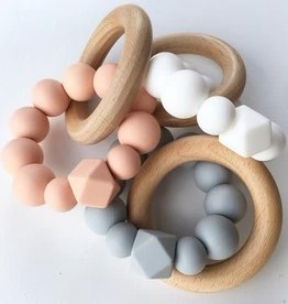 Grace & Parker Grace & Parker | Silicone Wood Teether