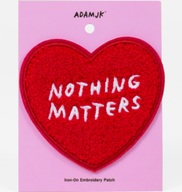 Bulletin Adam JK | Nothing Matters Patch