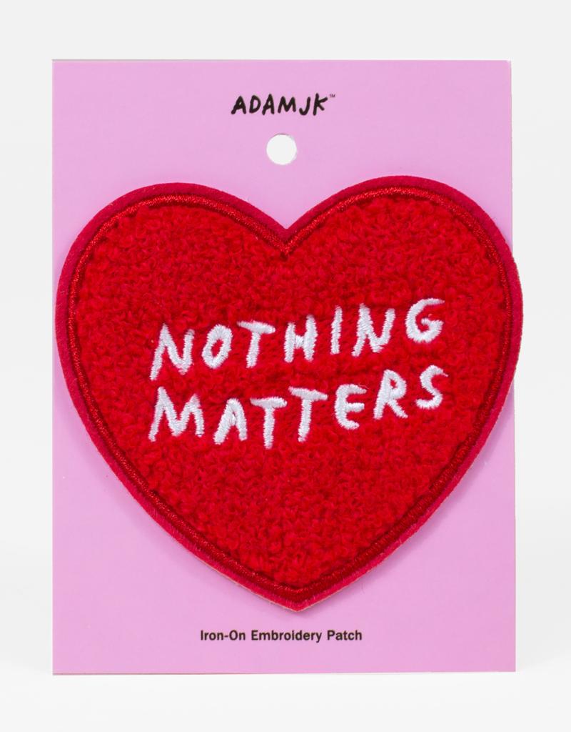 Bulletin Bulletin|Adam JK Nothing Matters Patch