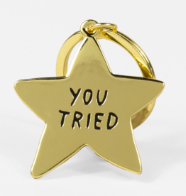 AdamJK Adam JK | You Tried Keychain